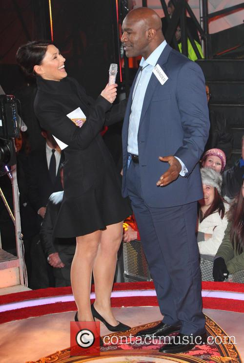 Emma Willis and Evander Holyfield 7