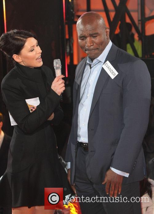 Emma Willis and Evander Holyfield 9
