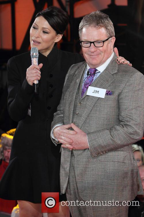 Emma Willis and Jim Davidson 6