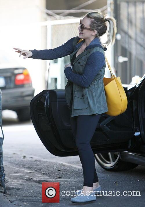 hilary duff hilary duff out and about 4012525