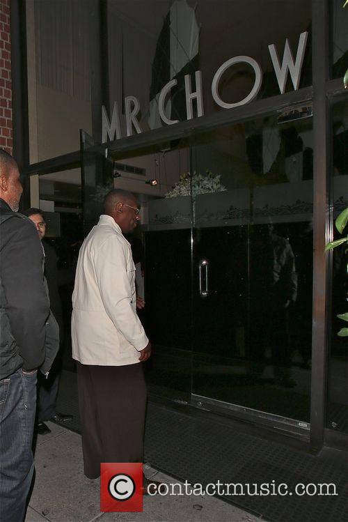 Martin Lawrence arrives at Mr Chow in Beverly...