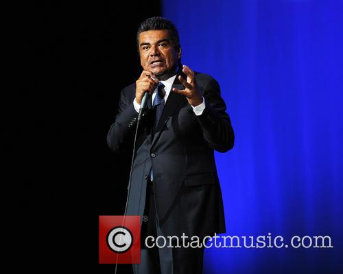 George Lopez performs at the Seminole Hard Rock Hotel and Casinos' Hard Rock Live