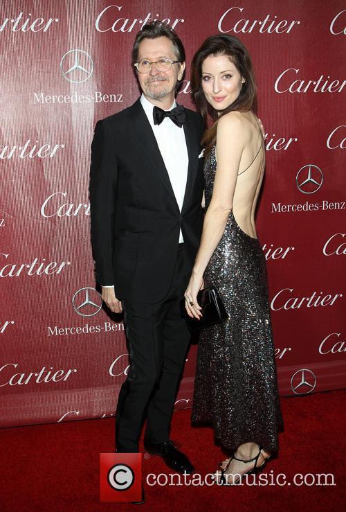 Gary Oldman and Alexandra Edenborough