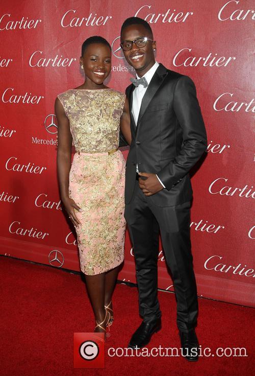 Lupita Nyong'o and Peter Nyong'o 8