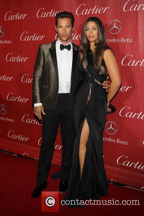 Matthew Mcconaughey and Camila Alves-mcconaughey 2