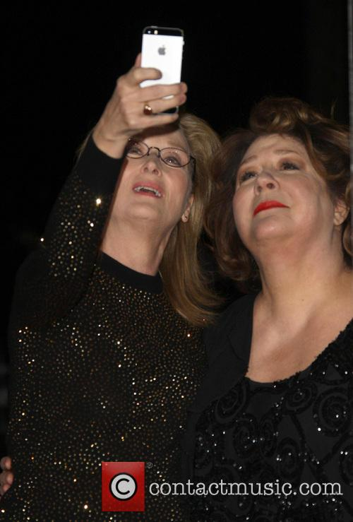 Meryl Streep and Margo Martindale 3
