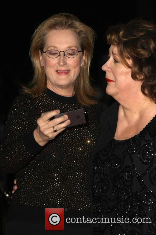 Meryl Streep and Margo Martindale 5