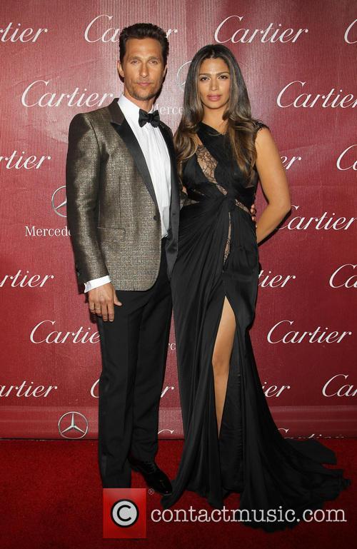 Matthew McConaughey and Camila Alves-McConaughey 1
