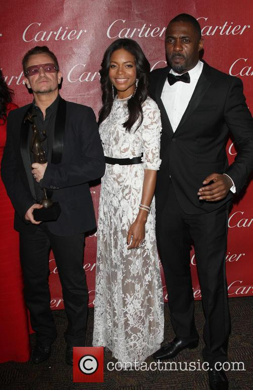 Bono, Naomie Harris and Idris Elba 2