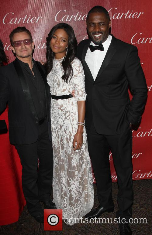 Bono, Naomie Harris and Idris Elba 4
