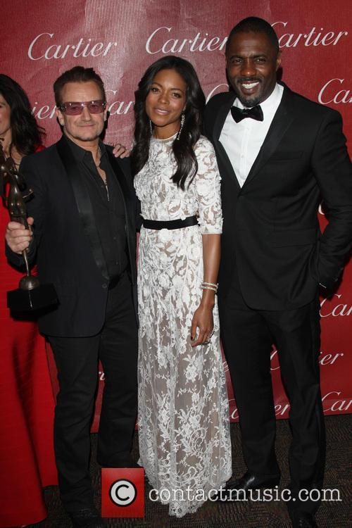 Bono, Naomie Harris and Idris Elba