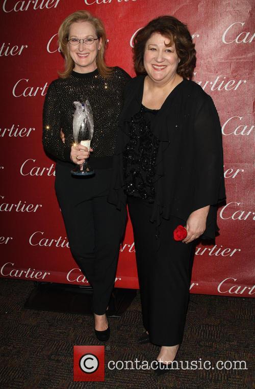 Meryl Streep and Margo Martindale 6