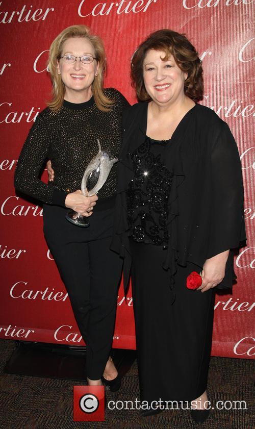 Meryl Streep and Margo Martindale 9