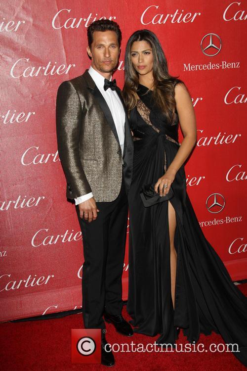 Matthew McConaughey, Camila Alves, Palm Springs Convention Center