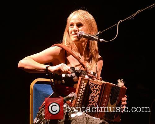 Sharon Shannon performs at Vicar Street