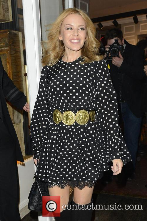 Kylie Minogue Dolce Gabbana