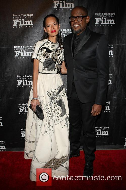 Keisha Whitaker and Forest Whitaker 7