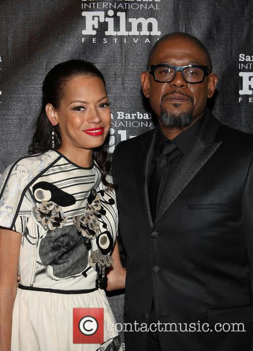 Keisha Whitaker and Forest Whitaker 9