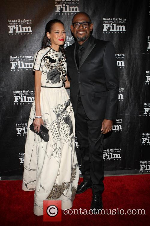 Keisha Whitaker and Forest Whitaker 10