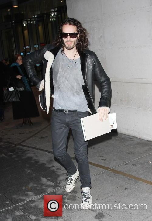 Russell Brand leaving BBC studios