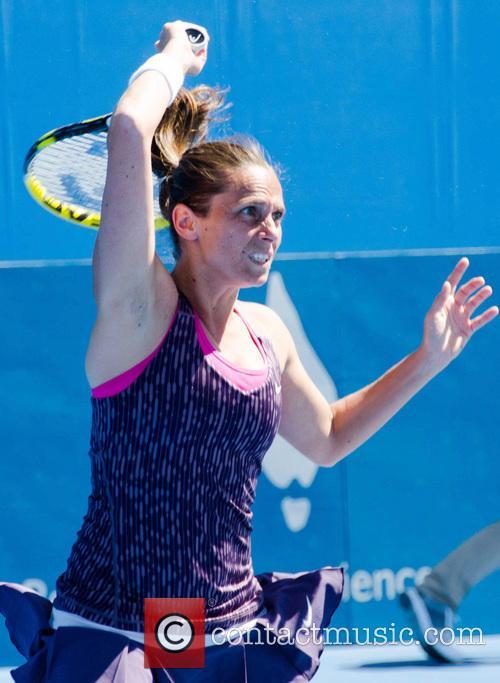 Tennis and Roberta Vinci 2