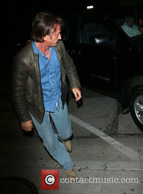 Sean Penn at Craig's Restaurant