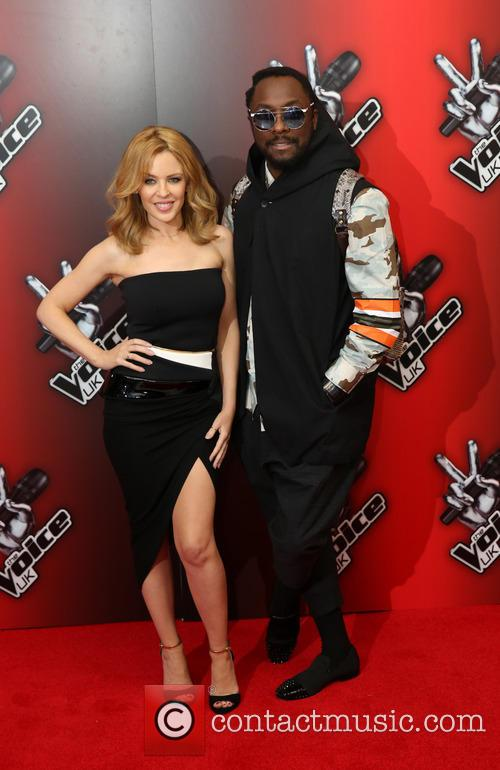 Kylie Minogue and Will.i.am 5