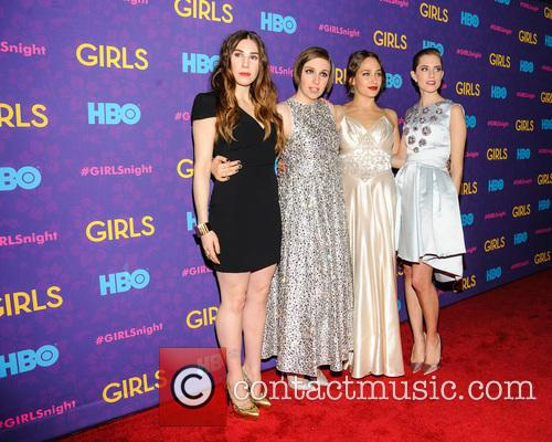 Jemima Kirke, Lena Dunham, Allison Williams and Zosia Mamet