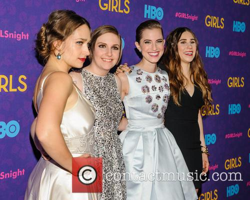 Jemima Kirke, Lena Dunham, Allison Williams and Zosia Mamet 2