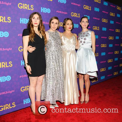 Jemima Kirke, Lena Dunham, Allison Williams and Zosia Mamet 5