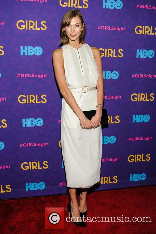 karlie kloss girls season three premiere 4011465