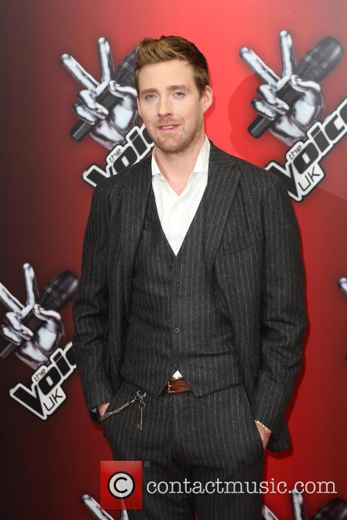 ricky wilson the voice uk red carpet 4012103