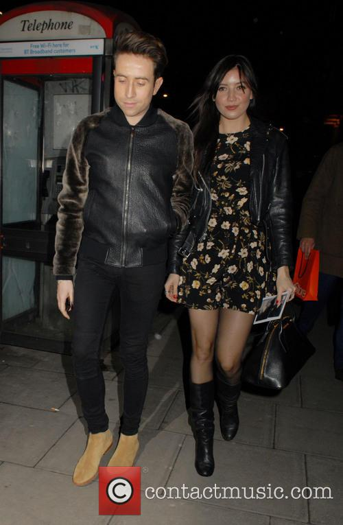 Nick Grimshaw and Daisy Lowe 2