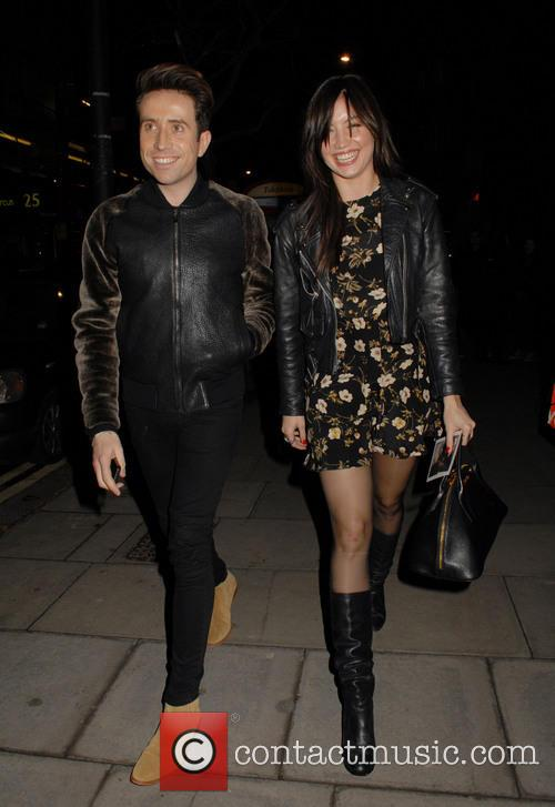 Nick Grimshaw and Daisy Lowe 1