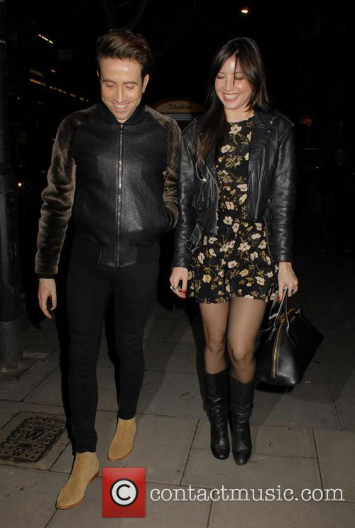 Nick Grimshaw and Daisy Lowe 4
