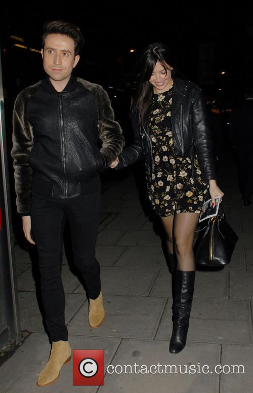 Nick Grimshaw and Daisy Lowe 8
