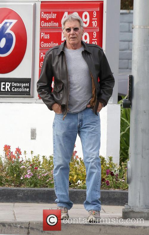 Harrison Ford Eight Weeks Off Filming
