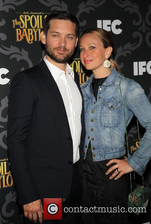 Tobey Maguire and Jennifer Meyer 5