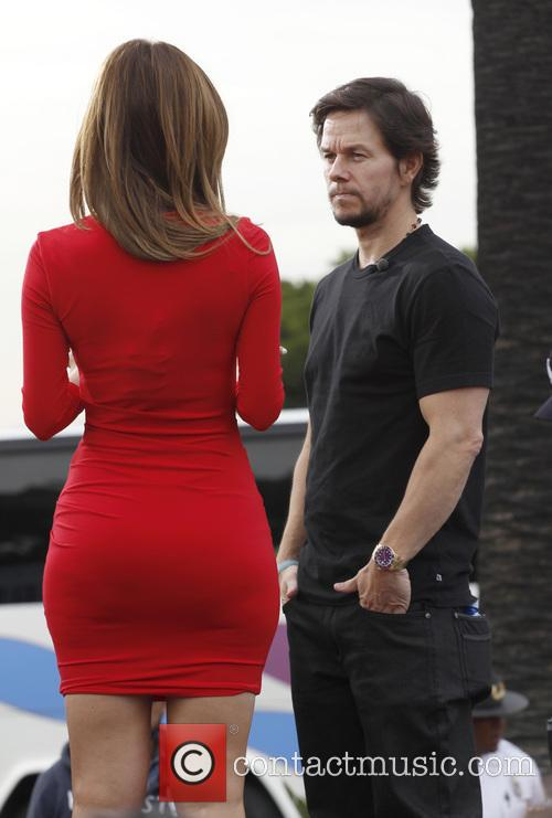 Mark Wahlberg, Maria Menounos, Citywalk
