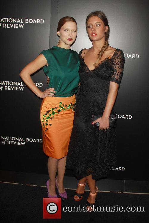 Lea Seydoux and Adele Exarchopoulos 1