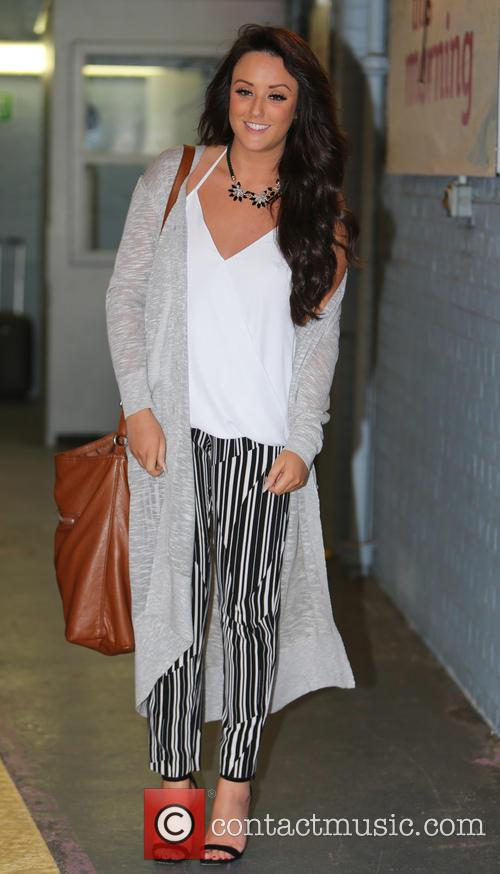charlotte crosby celebrities at the itv studios 4011022