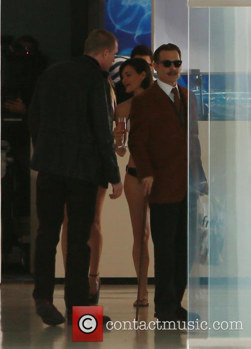 Johnny Depp Films with Bikini Babes