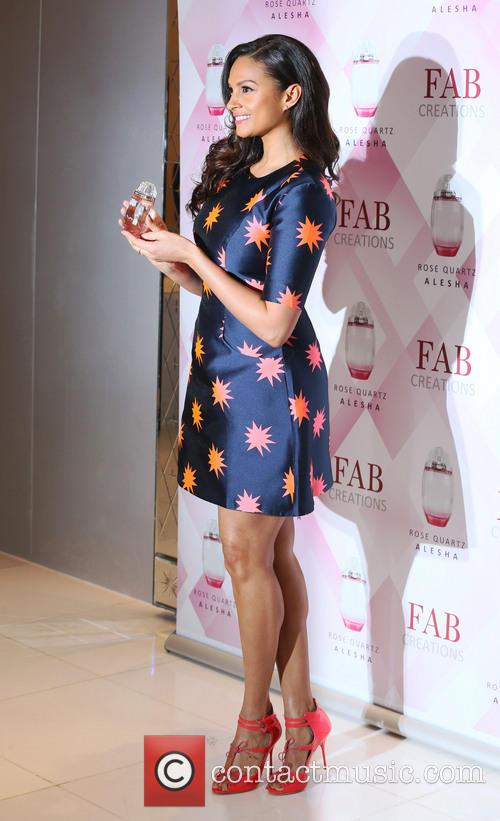 Alesha Dixon Fragrance Launch Photocall