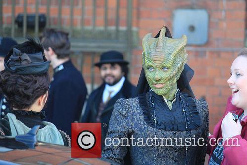 Neve Mcintosh and Dr Who