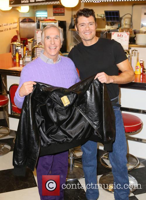 Ben Freeman and Henry Winkler 5