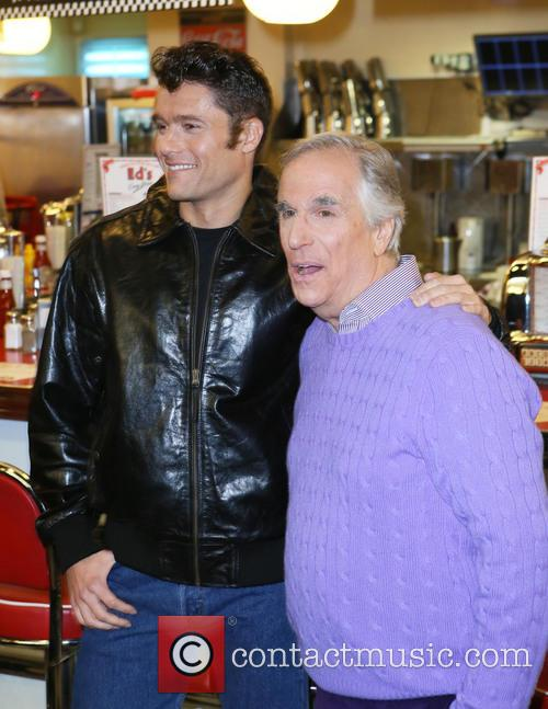 Ben Freeman and Henry Winkler 8