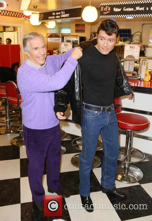 Ben Freeman and Henry Winkler 11