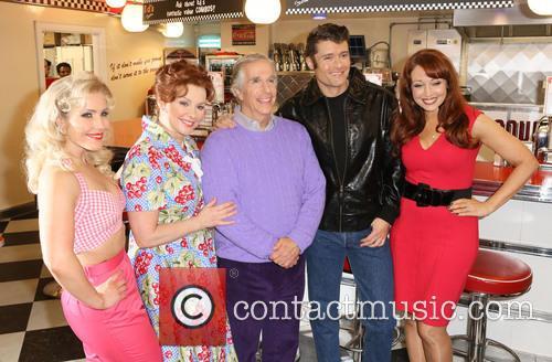 Heidi Range, Cheryl Baker, Henry Winkler, Ben Freeman and Amy Anzel 4