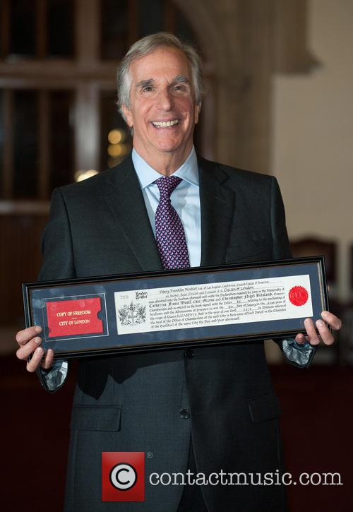 Henry Winkler: Freedom of the City of London
