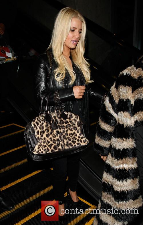 Jessica Simpson arrives at LAX